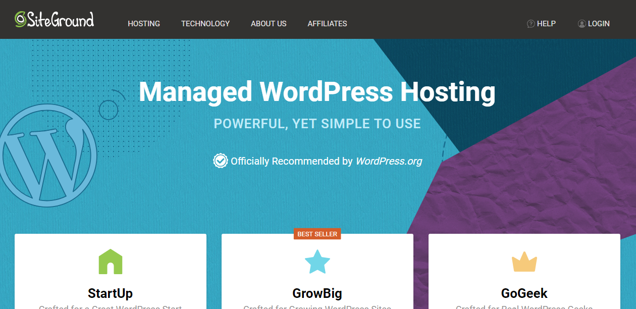 Best WordPress Hosting for Beginners - Siteground WordPress Hosting Pro & Cons