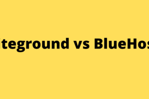 Siteground vs BlueHost WP BESTO